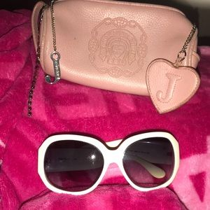 Cute Juicy Sunglasses with Zip Up holder❤️